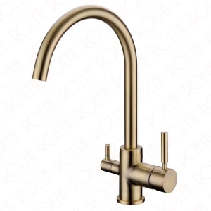 rolya antique bronze tri flow kitchen faucet 3 way water filter taps
