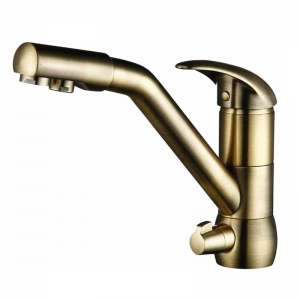 rolya antique bronze purified water kitchen mixer faucets