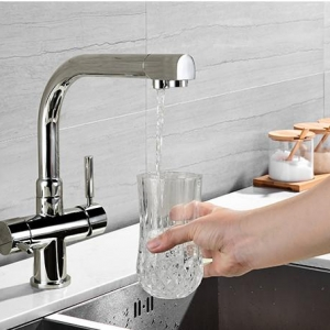 Say goodbye to drilling a new hole on your sink for a secondary tap!