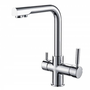 ROLYA 4 Way Kitchen Faucet Hot&Cold&Filtered&Sparkling Water Kitchen Mixer Tap