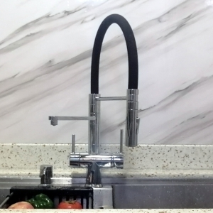 ROLYA Pull Down 3 Way Kitchen Faucets